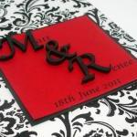 Wedding Guestbook/Album - Black & W..