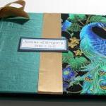 Wedding Guestbook/Album - Peacock D..