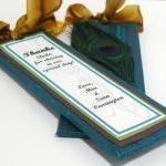 Handmade Wedding Bookmarker Favors ..