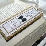 Handmade Wedding Bookmarkers Favors..