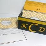 Custom Wedding Guest Box & Cards - ..